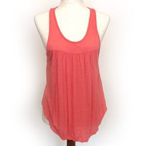 American Eagle Pink/Orange Oversize Tank Top